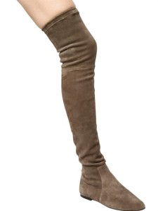 Isabel Marant Taupe Suede Brenna Boots1