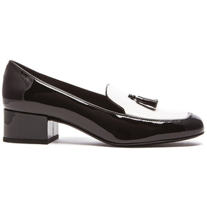 Saint Laurent Patent Leather Tassel Loafers2