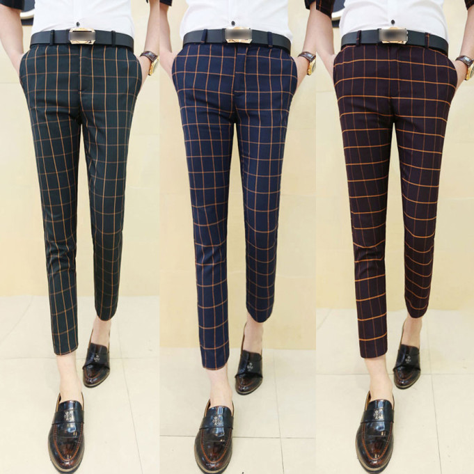 Checked Trousers1
