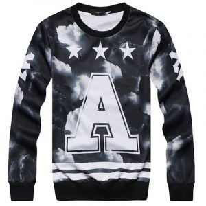 Graphic Crew Neck Jumper1