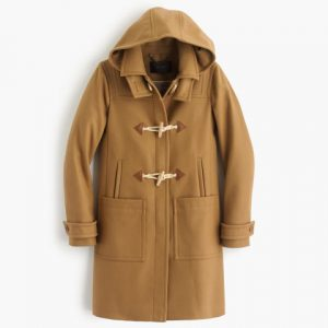 J. Crew Wool Melton Toggle Coat