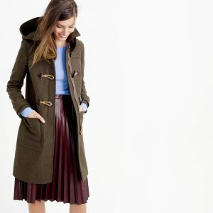 J. Crew Wool Melton Toggle Coat1