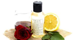 Khadi Honey, Rose Water & Lemon Face Wash