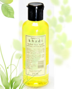 Khadi Honey, Rose Water & Lemon Face Wash1