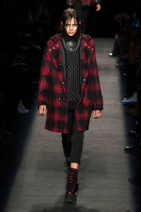 Plaid coat1