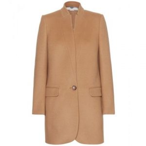 Stella McCartney Wool Blend Coat