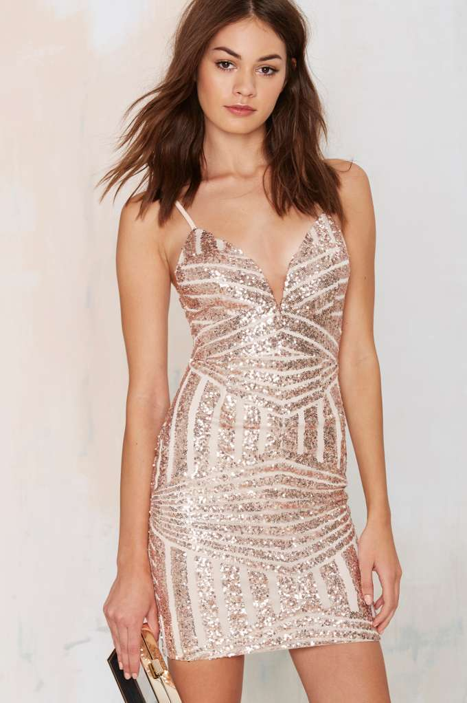 Tiger Mist Disco Diva Sequin Dress