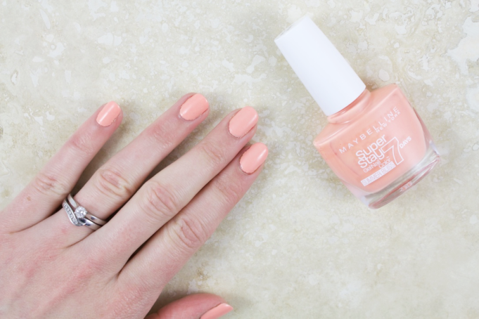 A Peachy Keen NOTD – Maybelline Superstay in Sunkissed 3