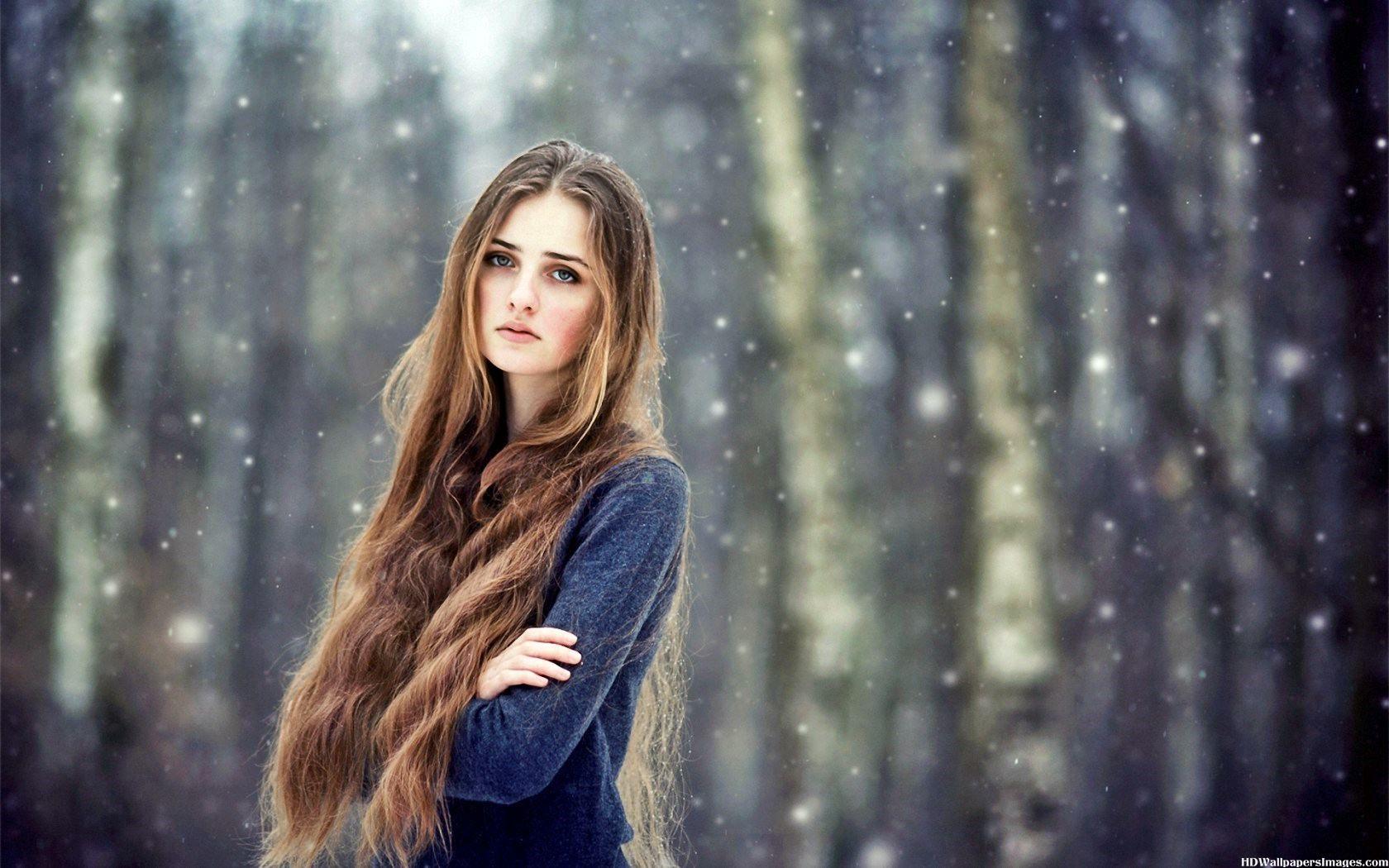 Girl Long Hair Wallpapers Views Wallpapers