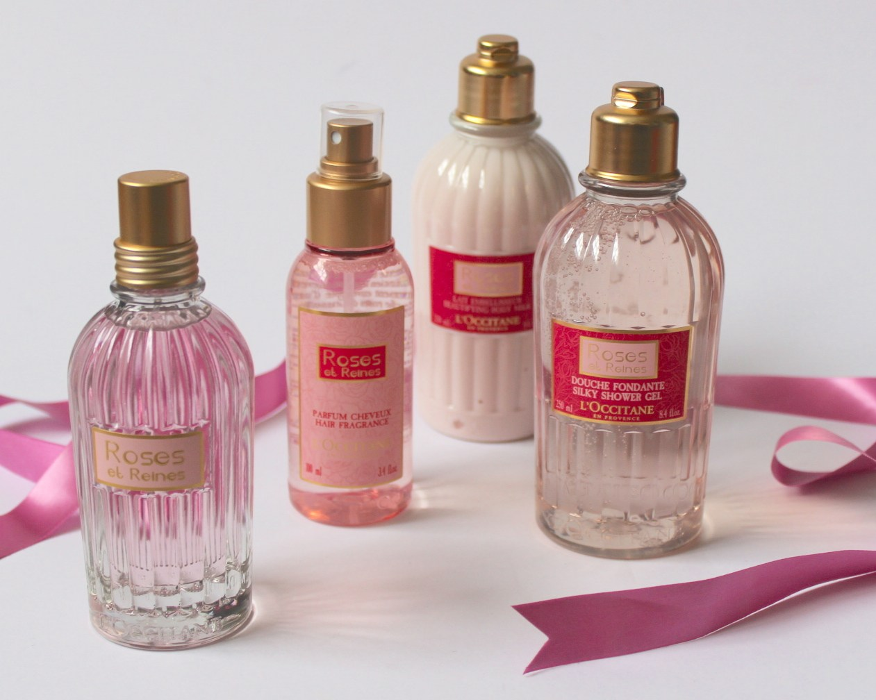 Best rose collection from one of the best french brand l for L occitane jardin secret
