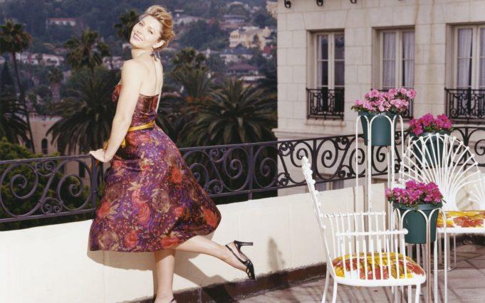 jessica-biel-women-dress-actresses-celebrity-floral-texture