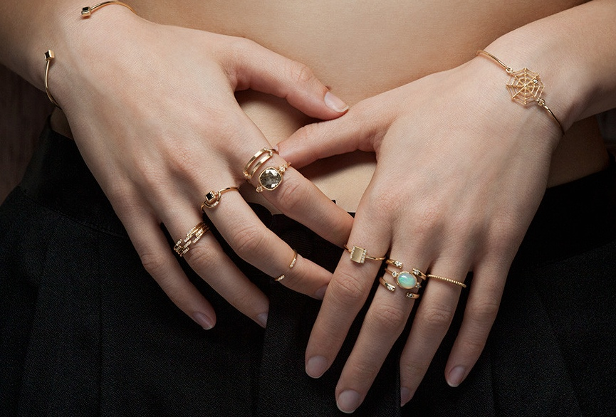 A Women Can Never Be Enough Of Trendy Rings