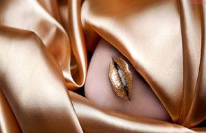 Golden-Lips-In-Veil-HD-Wallpaper