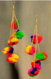 Pom Pom Earring _ stylegods