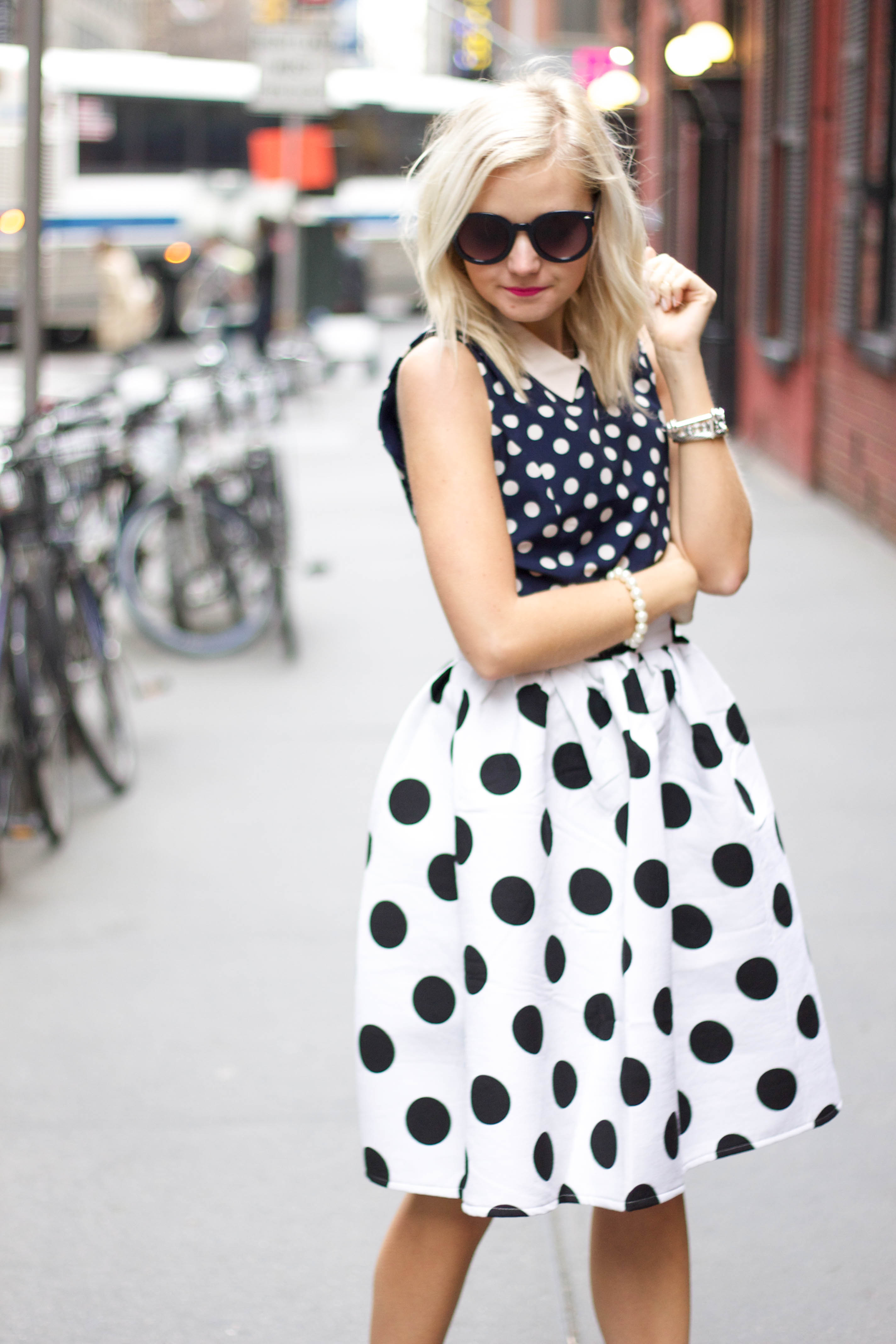 Fashion Chain Is On Rewind Mode With Polka Dots