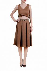 Classy Skirt And Top Pair _ stylegods