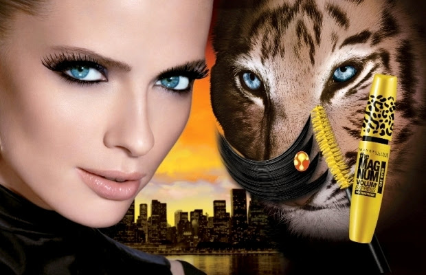 Maybelline Volum' Express the Magnum Cat Eyes Mascara Review 4