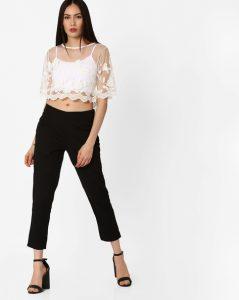 Trendy Sheer Top _ stylegods