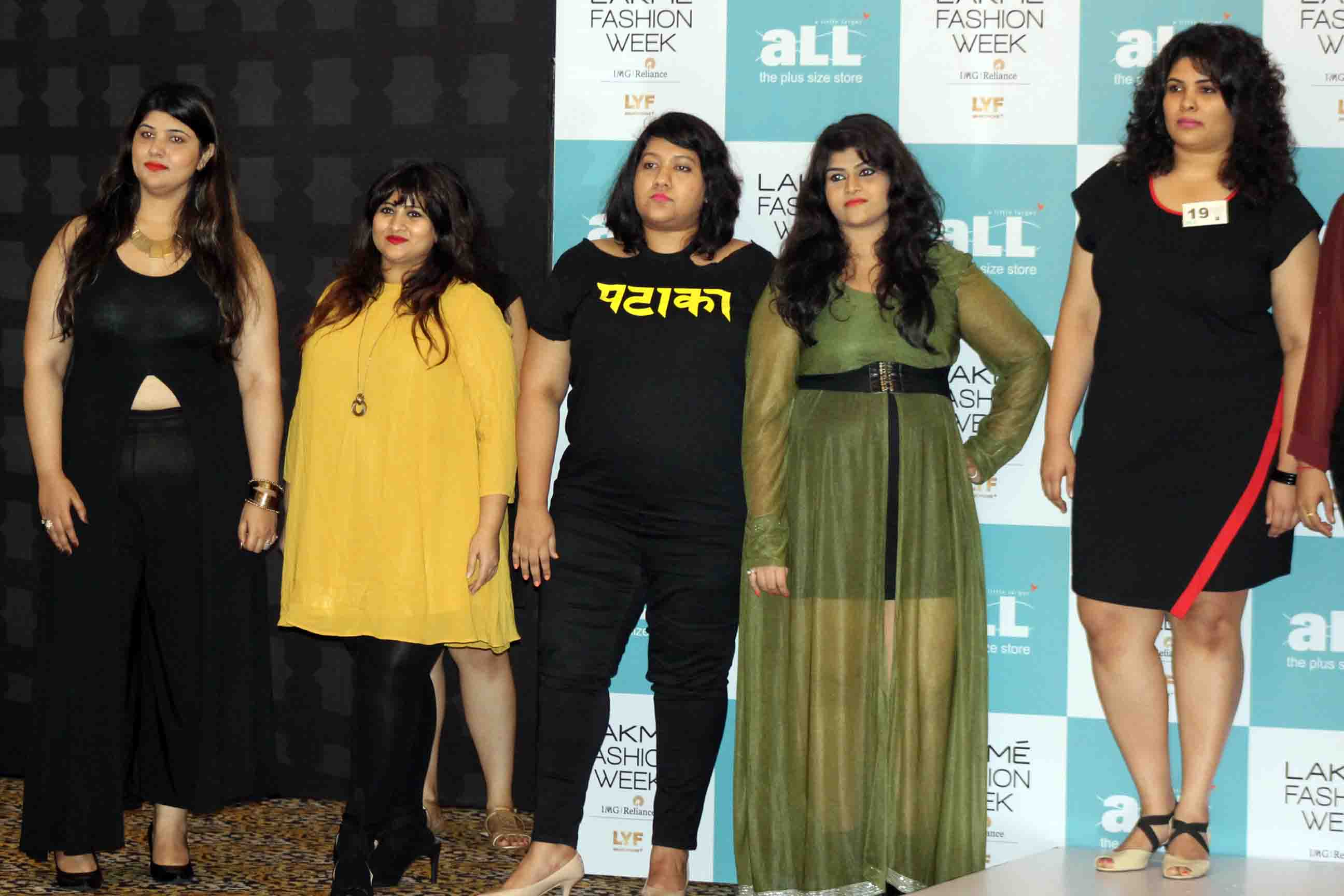 a86409f3114 Plus Sized Models: Big and Beautiful Rock the Indian Ramp