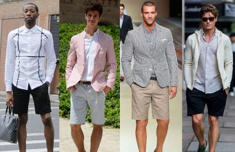 Men wearing shorts