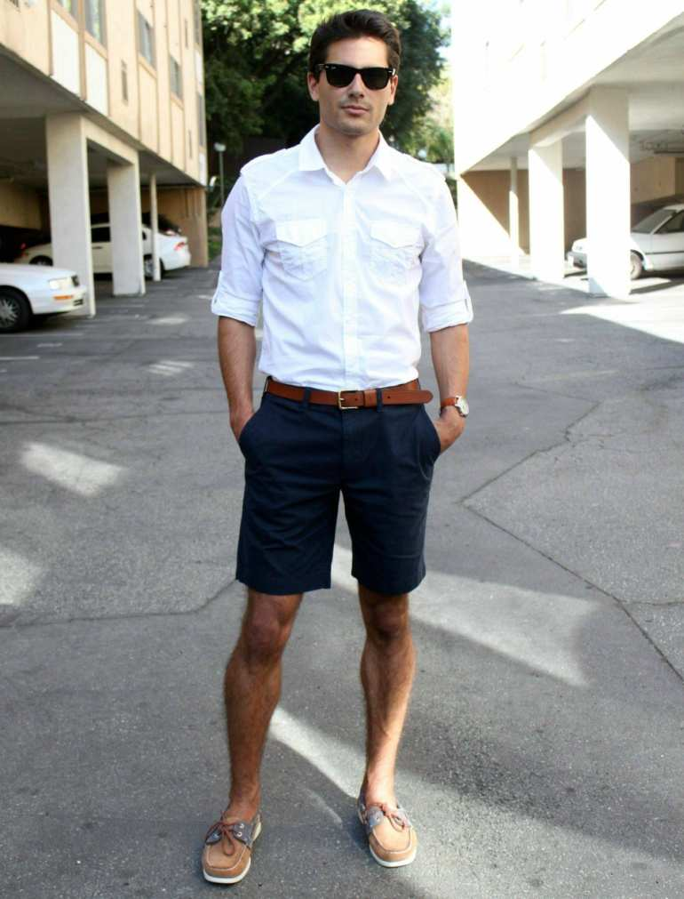 Men Wearing Shorts: Too Short For Office In Summers or Not?