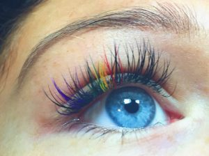 Coloured Eyelashes _ stylegods