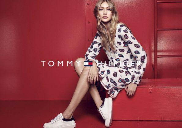 Gigi Hadid With Tommy Hilfiger _ stylegods