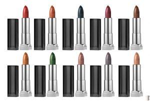 Maybelline Matte Metallic Lipstick _ stylegods