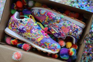 Lisa Frank designs for Reebok _ stylegods