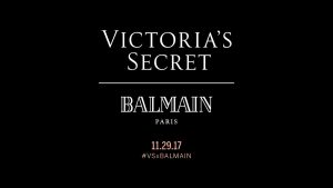 Balmain Collaboration With Victoria Secret _ stylegods