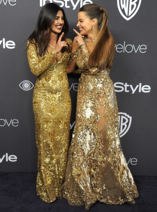 Priyanka Chopra And Sofia Vergara _ stylegods