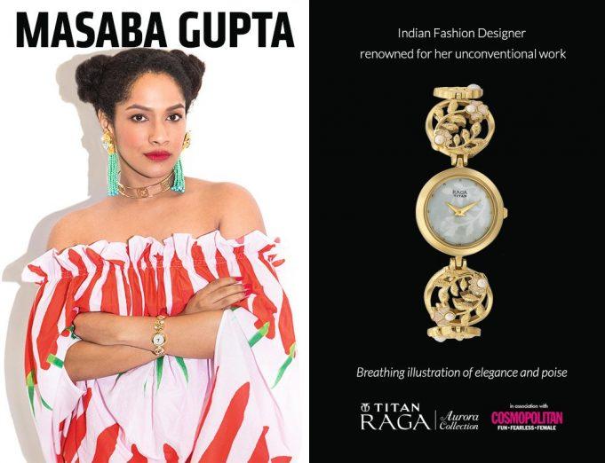 Masaba Gupta Collaboration With Titan Raga _ stylegods