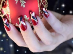 red nail art designs _ stylegods