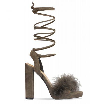 Trendy Fur Heels _ Stylegods