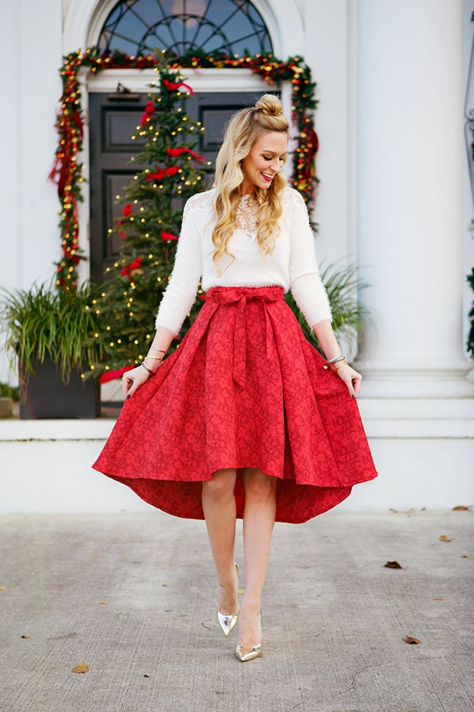 3e978fd0d634 You Can Sing Loud And Cheer Happily In These Christmas Dresses 2017