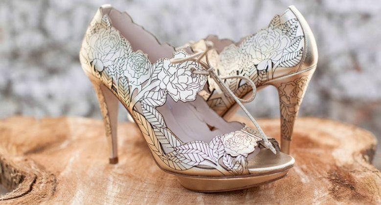 54Best Wedding Footwear _ style gods