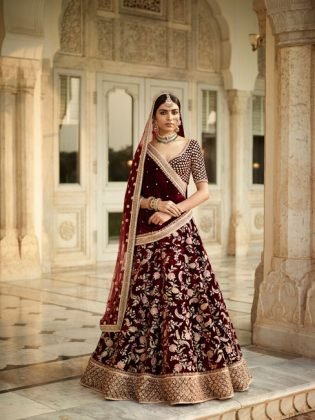 Sabyasachi-Indian-Couture-2017The-Gulkand-Collection-Baroque-Bridalwear-Lehengas