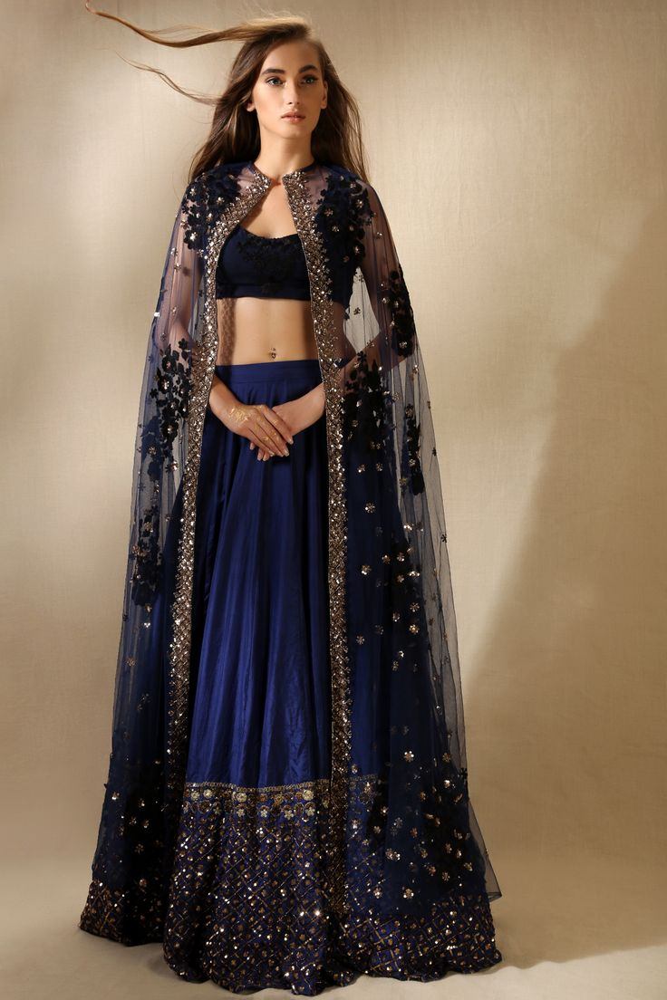 Let Traditional Functions Feel The Modesty In Designer Indian Wedding Wear