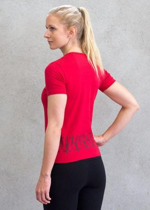 Women-v-neck-toBest Indian Sportswear Labels _ style godsp-red-2_grande
