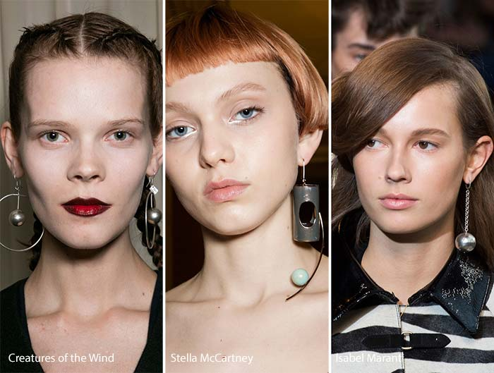 Supersize To Micro All Earrings Played Well On The Ramp 2018 Trend