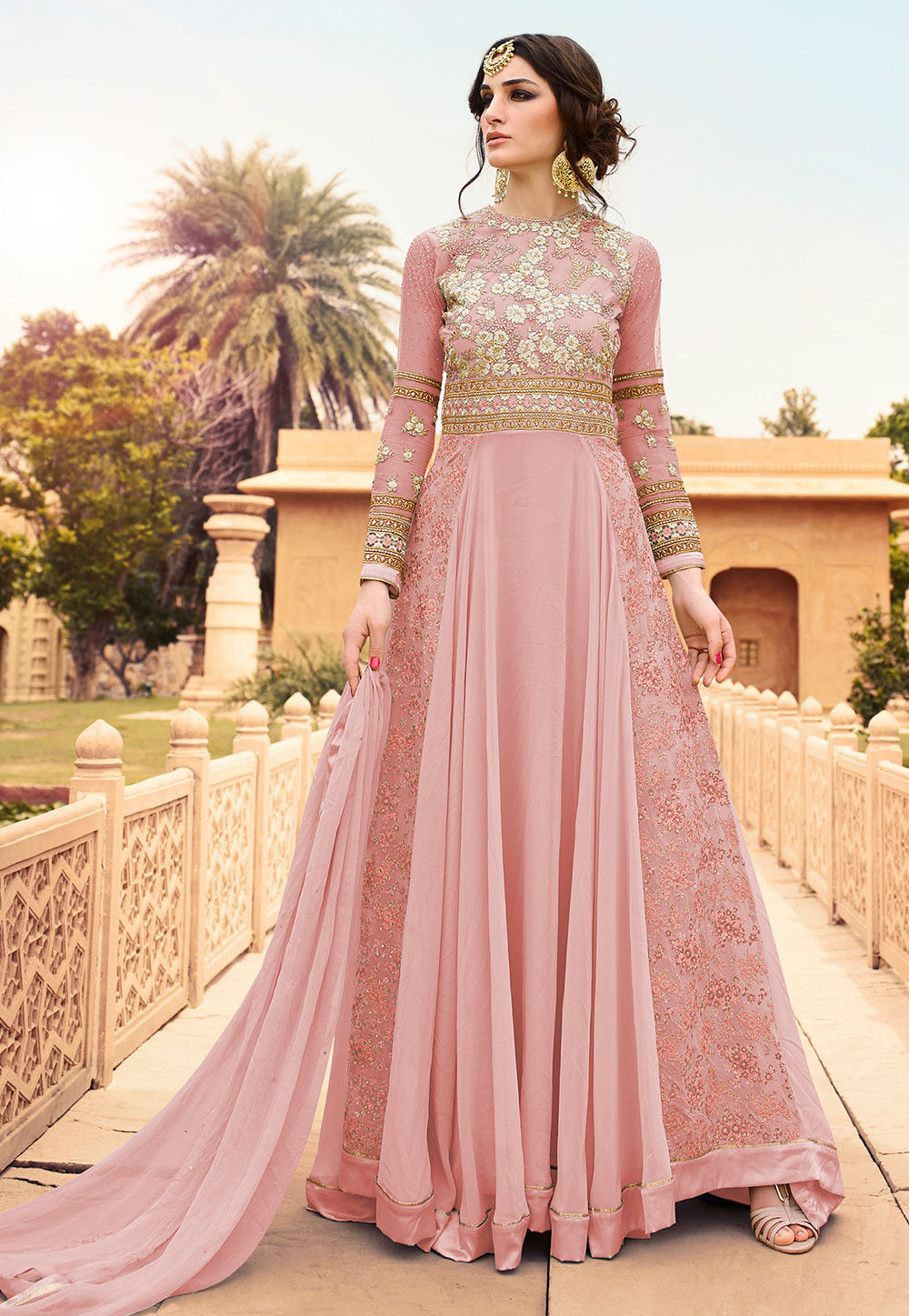 Let Traditional Functions Feel The Modesty In Designer Indian ...