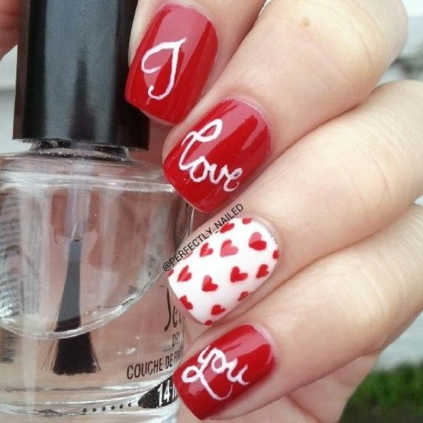 Wear Your Heart On Your Nails This Valentine Day: Valentine Nail Art ...