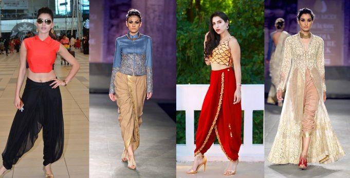Dhoti Pants Fashion _ Style Gods