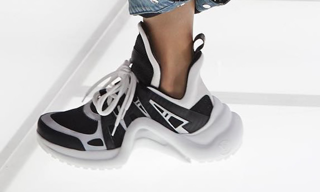 Louis Vuitton Chunky Sneakers _ Style Gods