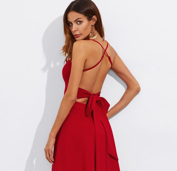Sexy Red Dresses _ Style Gods