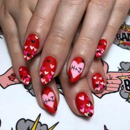 Valentine Nail Art Designs _ Style Gods