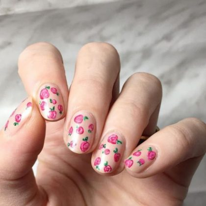Floral Nail Art _ Style Gods