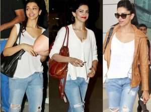 ripped and distressed clothing -Deepika