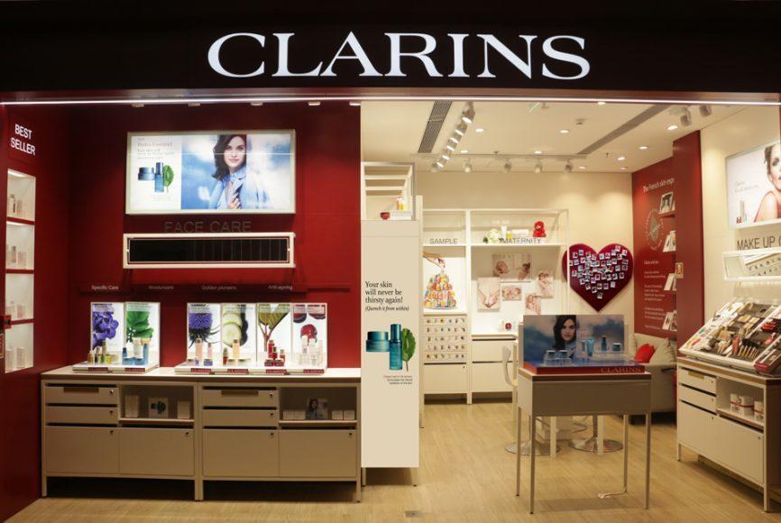 Clarins Beauty brand _ style Gods