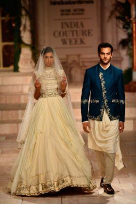 Anju Modi India Couture 2018 _ Style GodsICW18D1S2AnjuModiRunway1481